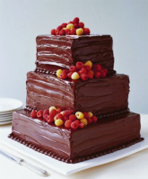 3 layer square cake