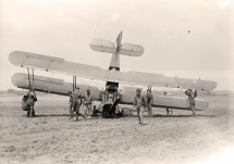 biplane crash