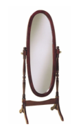 mirror reversed
