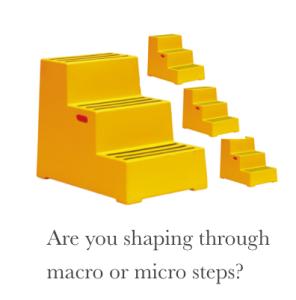steps macro micro