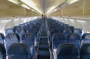 airplane seats multiple rows