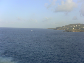 ocean view from ship